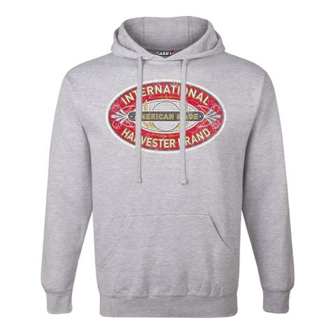 Classic International Harvester Oval - Men's Pullover Hoodie