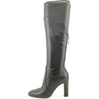 Ivanka Trump Sennet 2 Women Black Mid Calf Boot