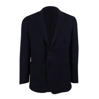 Michael Kors Men's Knit Slim Fit Blazer (44R, Midnight) - Midnight - 44r