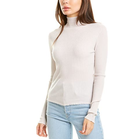 Vince Lettuce Edge Wool Sweater