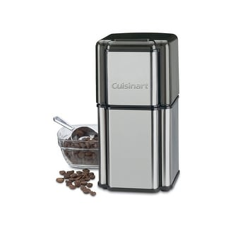Cuisinart DCG-12BC Grind Central Coffee Grinder, Brushed Stainless