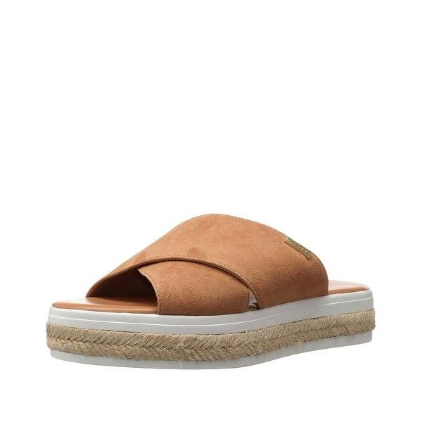 Calvin Klein Womens Jupare Platform Slide Sandals Shoes - 9.5 b(m)