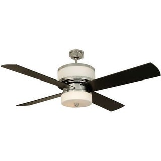 "Craftmade Midoro Modern 56"" 4 Blade Indoor Ceiling Fan - Blades and Light Kit Included"
