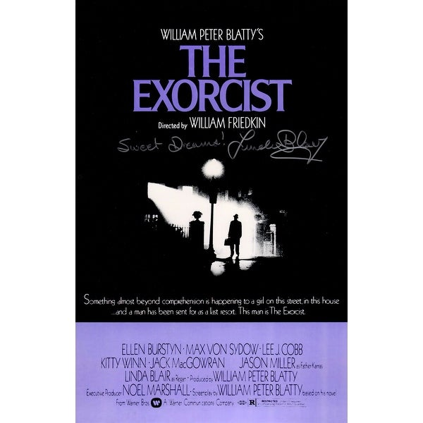 shop linda blair the exorcist 11x17 movie poster wsweet dreams