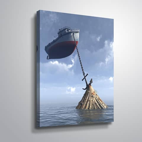 """Drydock"" Gallery Wrapped Canvas"