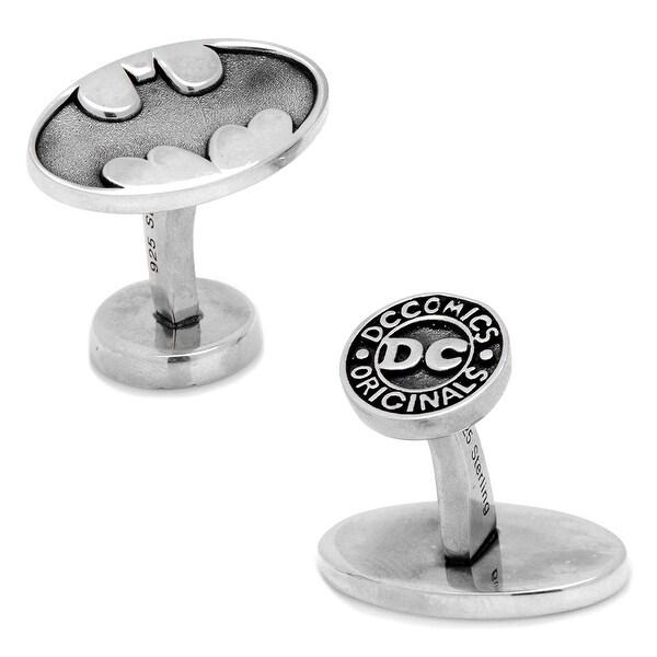 Sterling Batman Cufflinks