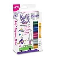 Kwik Stix Solid Paint Metallic Colors 6Ct
