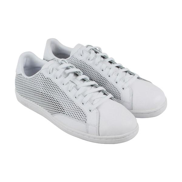 e96268d97da7 Shop Puma Match 74 Summer Shade Mens White Leather Sneakers Shoes ...
