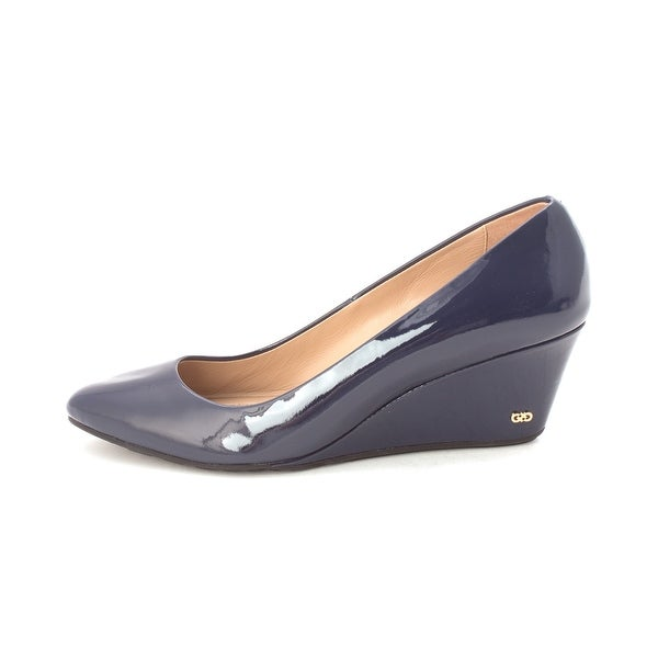 Cole Haan Womens 15A4108 Closed Toe Wedge Pumps - 6