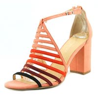 Daya by Zendaya Soda Women  Open Toe Synthetic Multi Color Sandals
