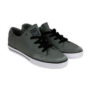Circa 50 Classic Mens Gray Textile Lace Up Sneakers Shoes
