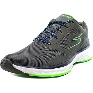Skechers Go Walk Sport Power Men  Round Toe Synthetic Gray Walking Shoe