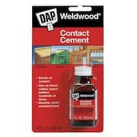 Dap 00102 Weldwood Contact Cement, 1 Oz.