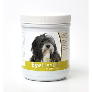 Healthy Breeds Lhasa Apso Dog Eye Care Support Soft Chews 75 Count
