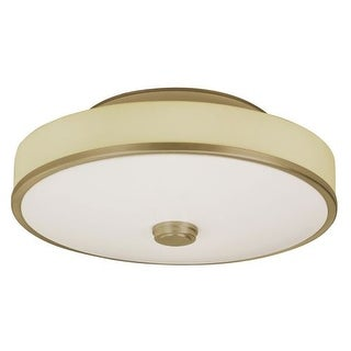 """AFX SHC155MVT 1 Light 22"""" Wide Semi Flush Ceiling Fixture from the Sheridan Collection"""