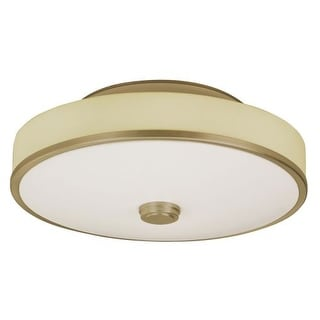 "AFX SHC155MVT 1 Light 22"" Wide Semi Flush Ceiling Fixture from the Sheridan Collection"