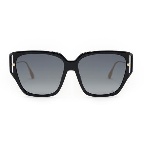 Christian Dior Square Sunglasses Direction 3F 8071I 58 - 58mm x 16mm x 145mm