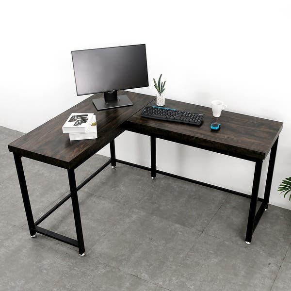 Gaming Desk Corner Desk L Shaped Desk Computer Desk For Home Office Overstock 28916046