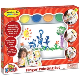 Creativity for Kids - Finger Prints Finger Painting Set