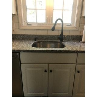VIGO Graham Matte Black Pull-Down Spray Kitchen Faucet