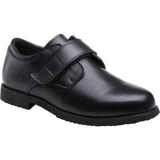 Mt. Emey Men's 2012 Adjustable Strap Work Shoe Black Leather