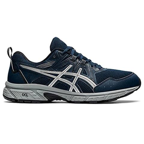 ASICS Men's Gel-Venture 8 Running Shoes, French Blue/Pure Silver