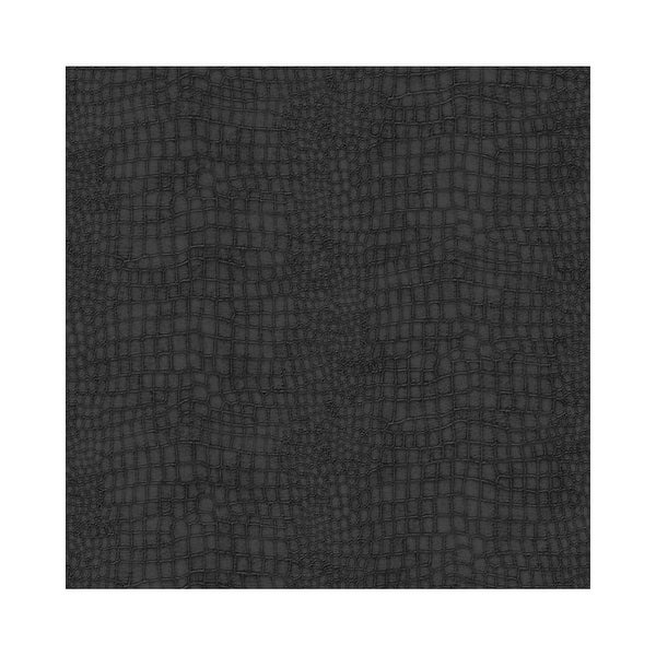 Graham And Brown 32 659 56 Square Foot Crocodile Black Non Pasted Vinyl Wallpaper