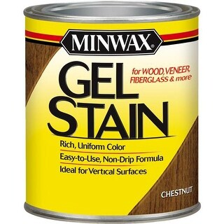 Minwax Chestnut Gel Stain 66010 Unit: QT