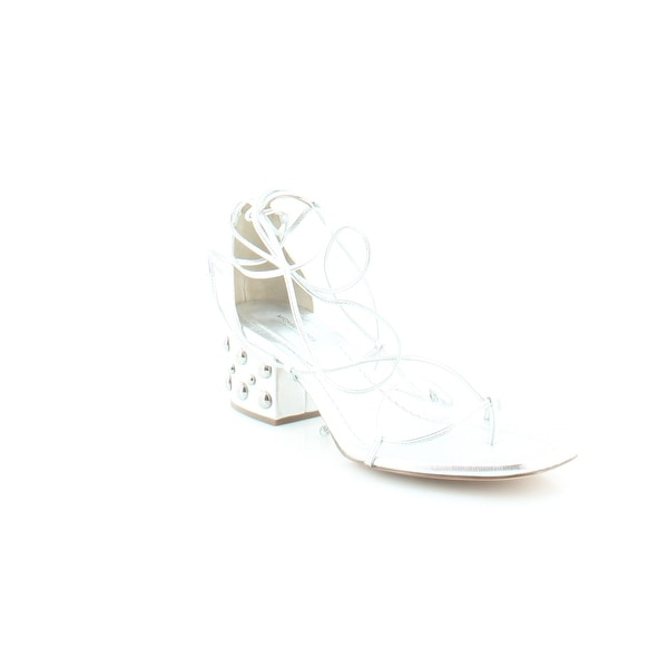 Michael Kors Collection Ayers Women's Sandals Silver - 9