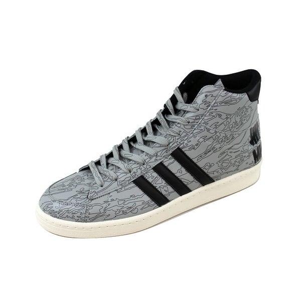 Adidas Men's Jabbar Mid Undefeated X MHI Black/White-Orange B33982