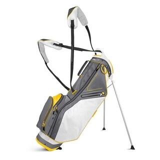 New Sun Mountain Front 9 Stand Bag - White / Gray / Yellow - CLOSEOUT - white / gray / yellow