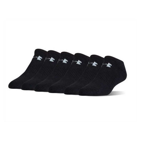 572c7ed8e Shop Under Armour Socks UA Men's Charged Cotton 2.0 No Show 6-Pack Socks - Free  Shipping On Orders Over $45 - Overstock - 20192760