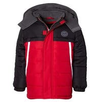 iXtreme Boys 4-7 Piping Color-block Puffer Jacket