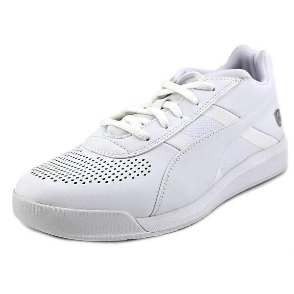 Puma Podio TD SF Men Round Toe Leather White Sneakers