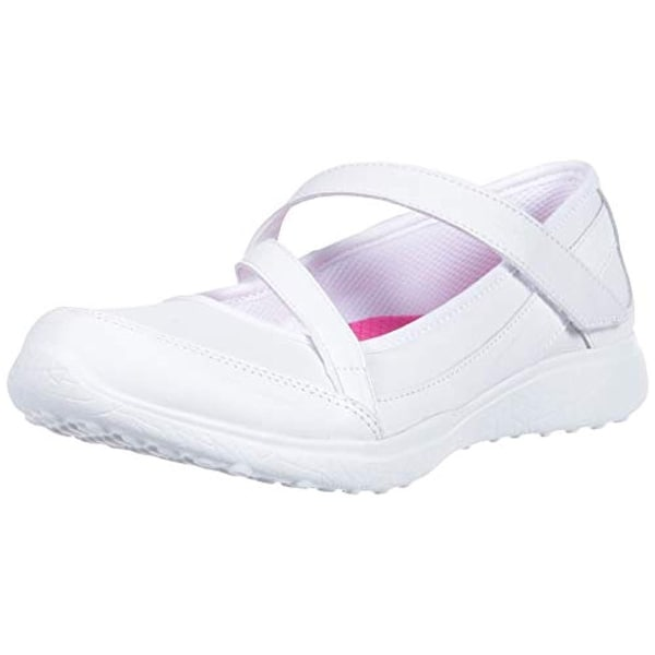 258b74a52aa9b Shop Skechers Kids Girls' Microburst-Scholar Spirit Sneaker, White, 2  Medium Us Little Kid - Free Shipping Today - Overstock - 25731529