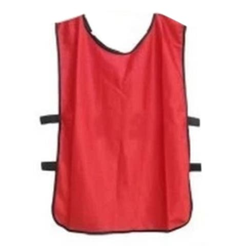 Football Player Soccer Training Vest - red