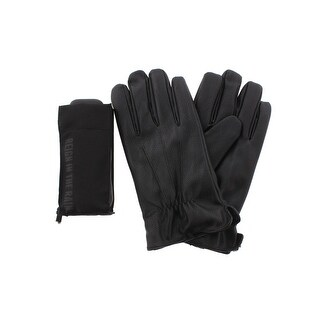 Kenneth Cole Reaction Mens Everyday Gloves Faux Leather Umbrella - XL