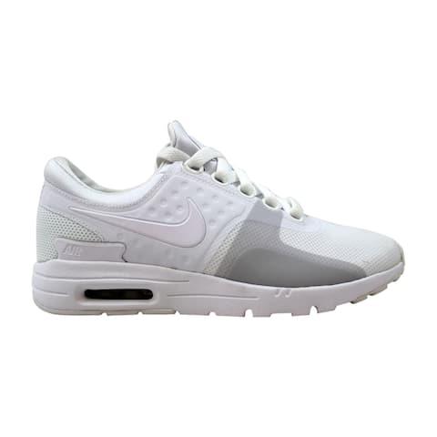 brand new 9ce9c ecff3 Nike Air Max Zero White White-Pure Platinum 857661-104 Women s
