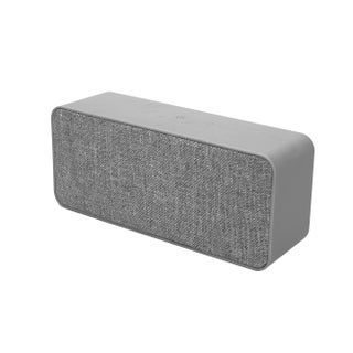 TechComm TB-BV6 Bluetooth Speaker with Durable and Modern Design, Dual 3W Speaker, Hands-free Calling and Auxiliary Input (Option: Grey)