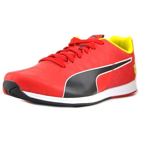Puma Evo Speed 1.4 Round Toe Leather Running Shoe