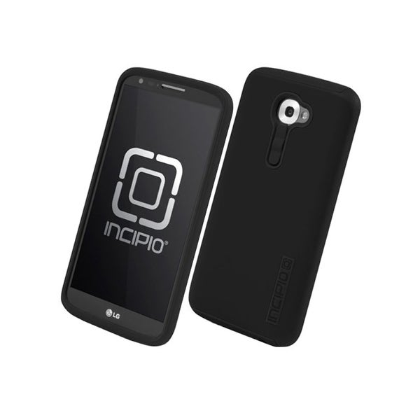 Incipio DualPro Shock-absorbing Case for LG G2 - Black/Black