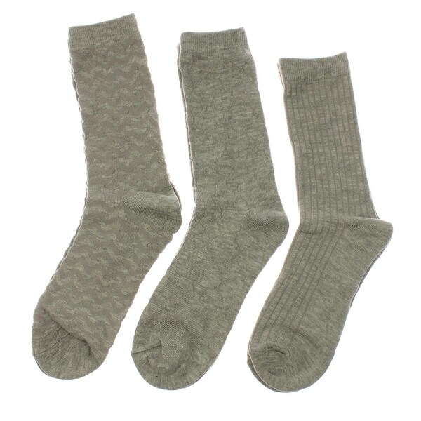 Jones New York Womens Dress Socks 3PK Heathered - 9-11