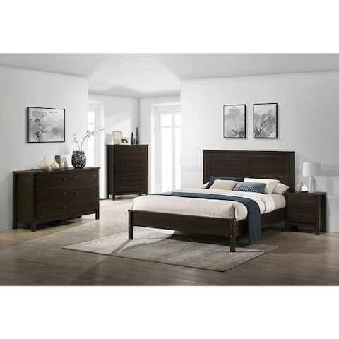 Picket House Furnishings Cian Queen Panel 2PC Bedroom Set in Grey