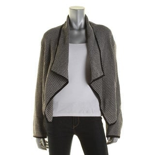 BOSS Hugo Boss Womens Kalesina Knit Asymmetric Jacket - 4