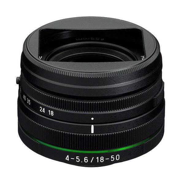 Pentax HD DA 18-50mm F4-5.6 DC WR RE Lens - Black