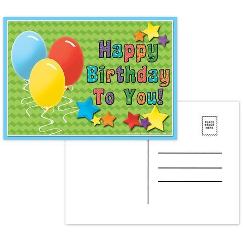 (12 Pk) Postcards Happy Birthday to You