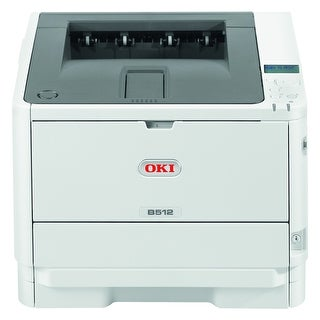 Oki B512dn LED Printer - Monochrome - 1200 x 1200 dpi Print - (Refurbished)