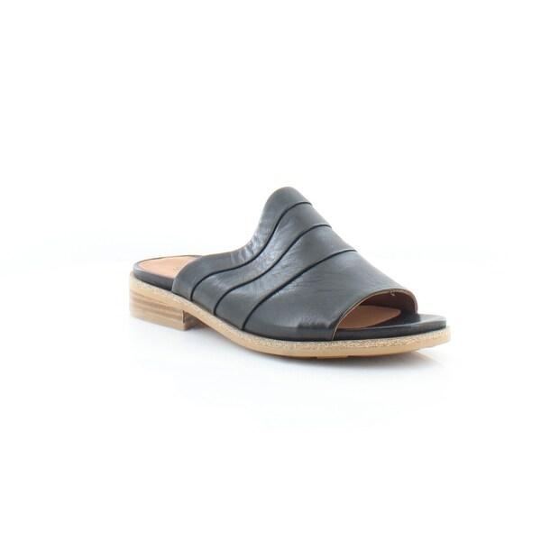Gentle Souls Gayle Women's Sandals & Flip Flops Black - 7.5