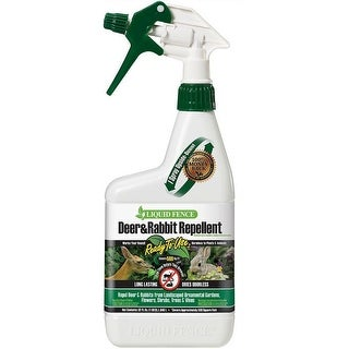 Liquid Fence HG-71126 Ready-to-Use Deer and Rabbit Repellent, 32 Oz