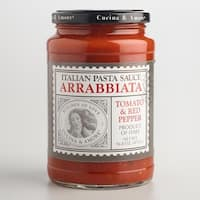 Cucina and Amore Arrabbiata Italian Pasta Sauce - Tomato and Red Pepper - Case of 6 - 16.8 oz.